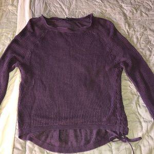 Express plum sweater!